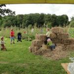 Kids im Gartenglück