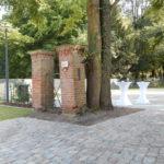 UBB Eroeffnung altes Gartentor